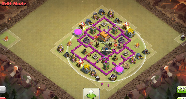 epic town hall 6 war base anti everything