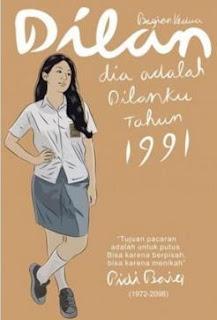 Novel Dilan Milea Oleh Pidi Baiq