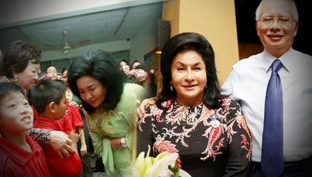 Najib Dedah Rosmah 'Berbisik' Kepadanya Sebelum Tidur