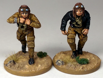 Perry Miniatures Luftwaffe Air Crew Painted