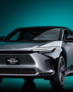 Toyota công bố phiên bản ô tô điện bZ4X tại triển lãm ô tô Thượng Hải