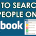 Facebook Search for People by City
