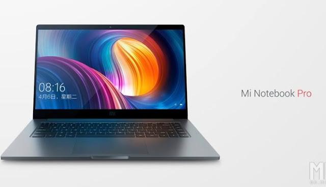 شاومي تعلن عن الحاسب المحمول Mi Notebook Pro المنافس لحاسب MacBook Pro التابع لأبل