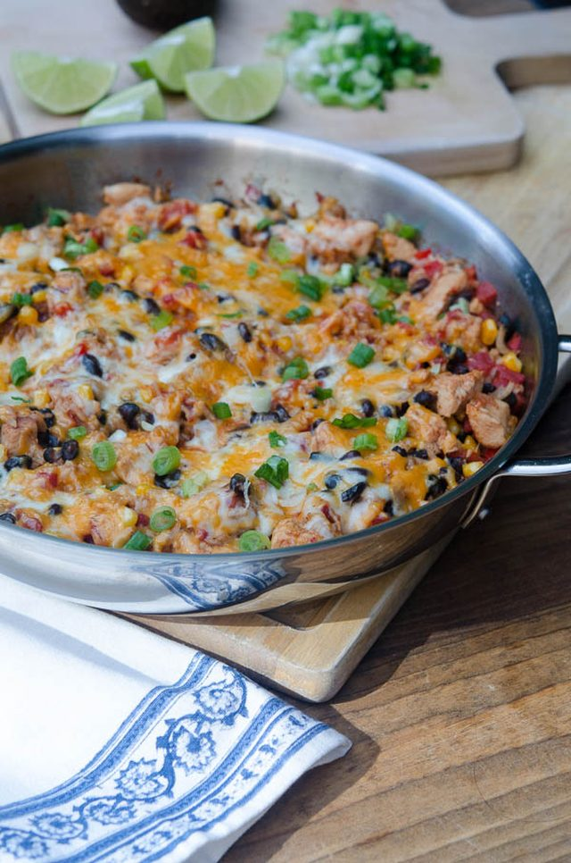 Chicken And Black Bean Smoky Rice Skillet Recipes — Dishmaps