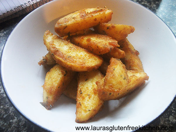 Gluten Free Homemade Potato Wedges