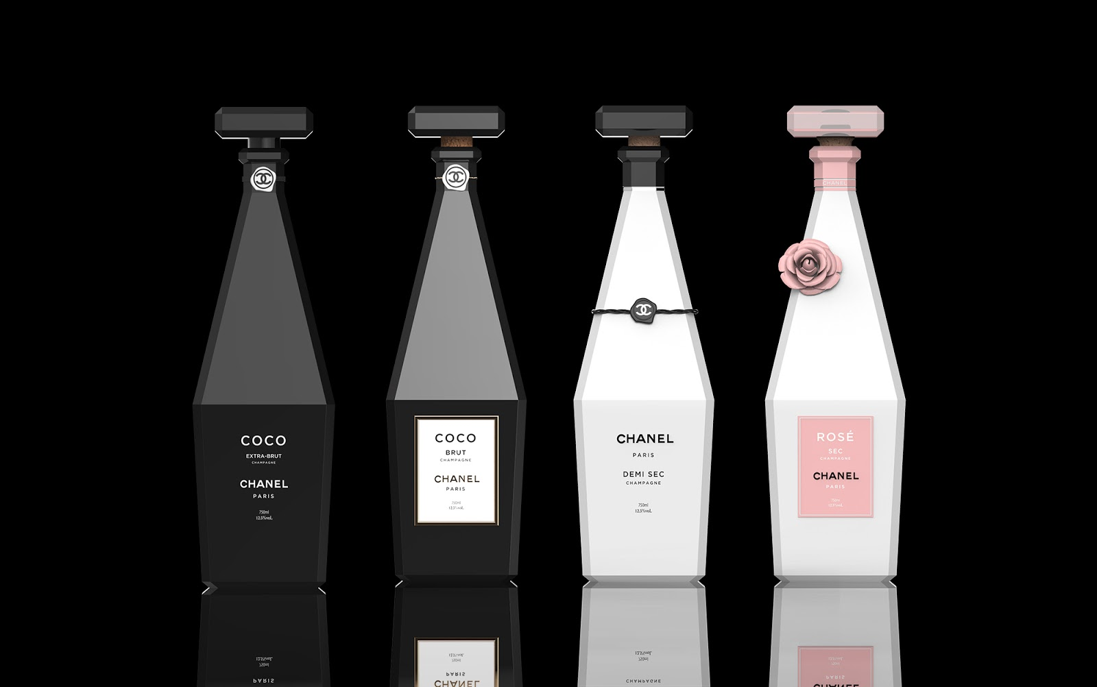 Champagne De Chanel On Packaging Of The World Creative