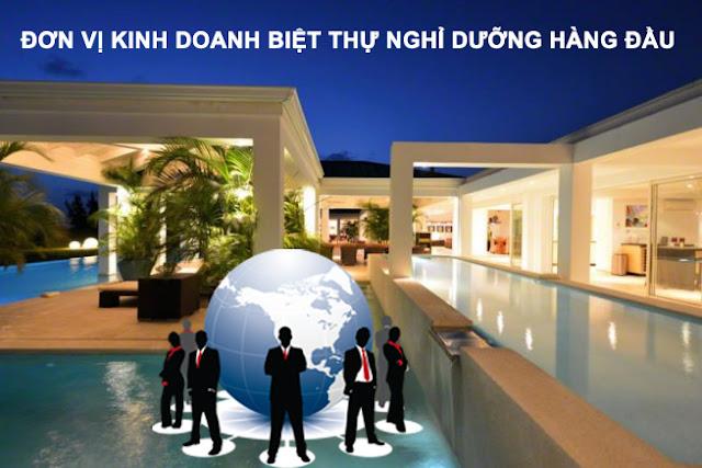 Hợp tác kinh doanh biệt thự nghỉ dưỡng và căn hộ du lịch