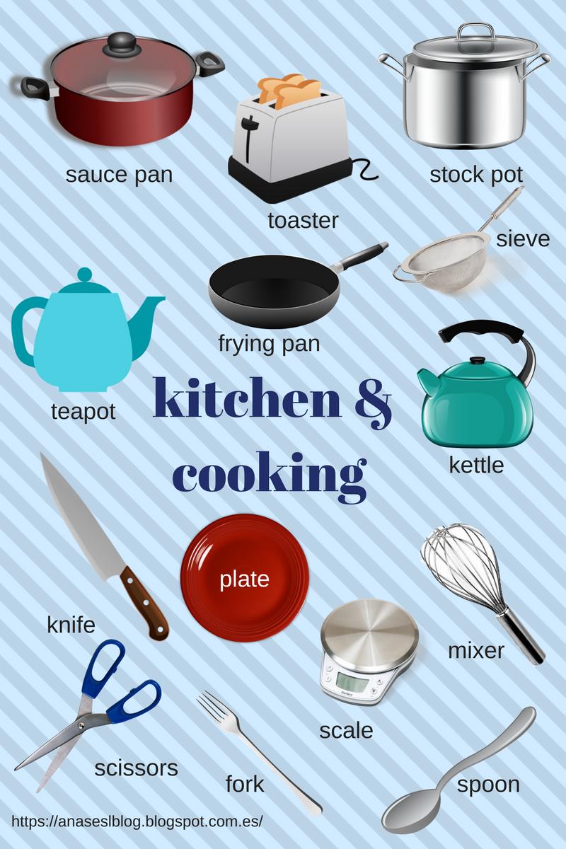 Ana\'s ESL blog: Kitchen vocabulary