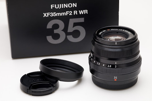 More hoods: the case of the XF 35mm f/2 WR