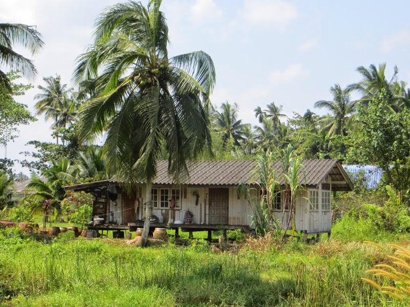 Деревянный дом Таиланд
