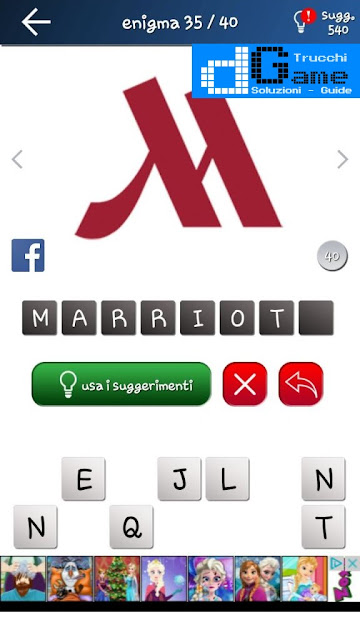 Quiz Logo gioco soluzione livello 5, loghi 1-40 | Parola e foto