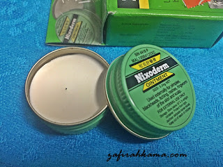 nixoderm, acne solution, penawar jerawat, cara merawat jerawat, petua mengatasi jerawat, merawat kegatalan, eczema, Nixoderm ointment, apa kebaikkan Nixoderm, kegunaan Nixoderm,