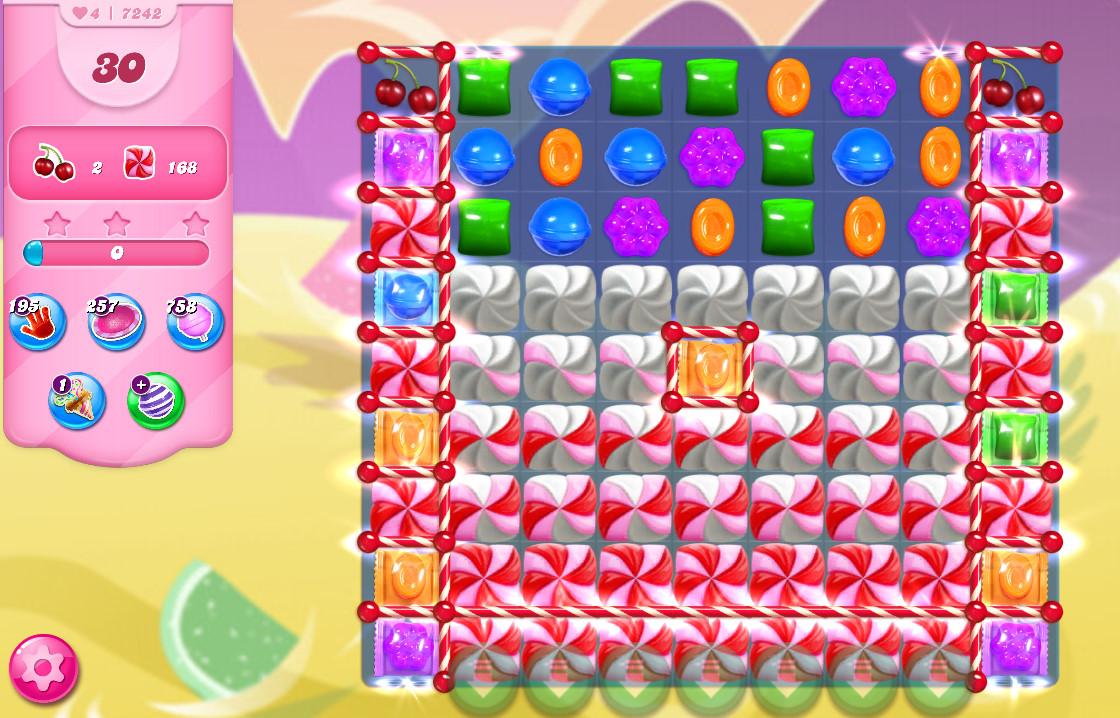 Candy Crush Saga level 7242