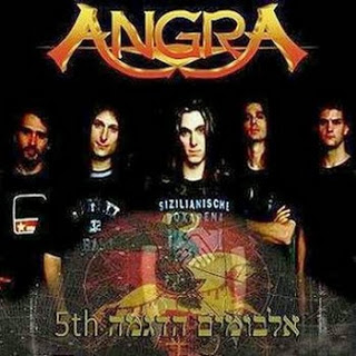Compact disc angels cry 20th anniversary tour angra album.