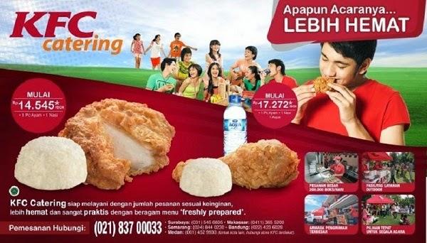 Harga Paket Menu KFC Catering yang Pas untuk Acara Kantor ...