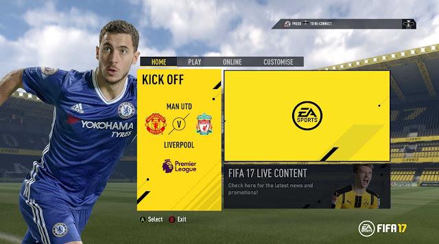 Cara Setting Slider FIFA 17 PC [diRekomendasikan]