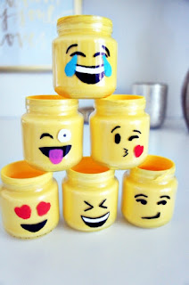 DIY Emoji Jars