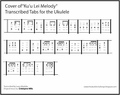 The Ukulele Challenge Cover Song Kuu Lei Melody For The Ukulele