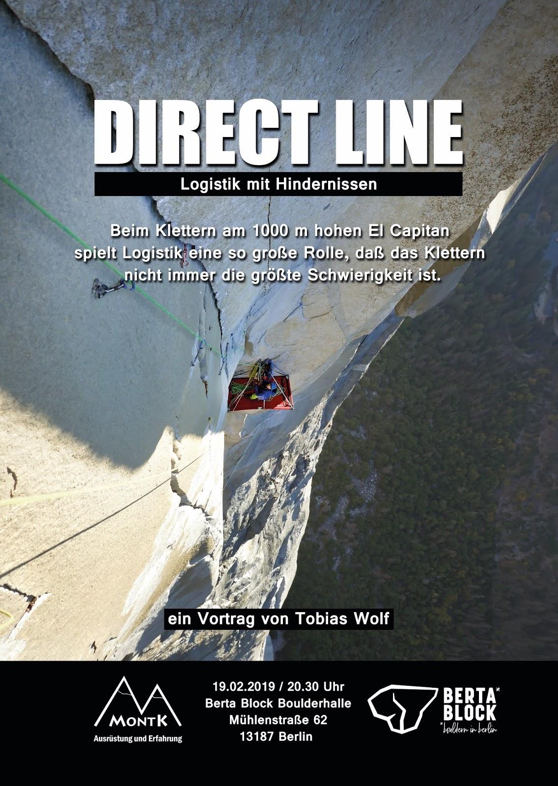 Sandsteinleidenschaft Vortrag Direct Line El Capitan