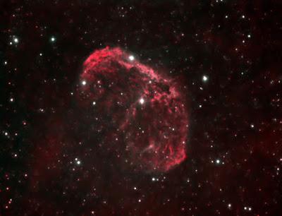 """NGC 6888, nebulosa """"Crescent"""""""