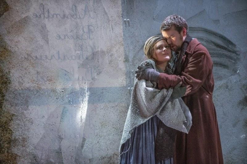 Ilona Domnich & David Butt Philip - La Boheme - English Touring Opera - © Richard Hubert Smith