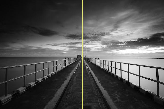 komposisi-foto-simetris
