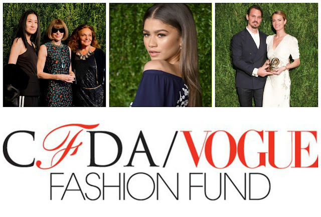 Zendaya 2016 CFDA/Vogue Fashion Fund Award