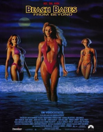 Beach Babes From Beyond (1993) Full Movie Dual Audio 480p Download Watch Online 800MB