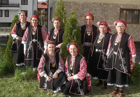 Abuelas de Bistritsa Bulgaria