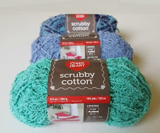 Scrubby Cotton Yarn- Red Heart Yarns