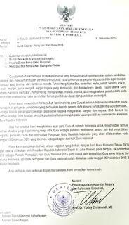 Ingat, Menteri Yuddy Larang Memperingati Hari Persatuan Guru Republik Indonesia