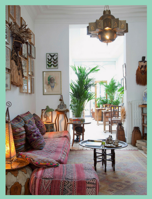 Ideas para una decoración Boho Chic-13