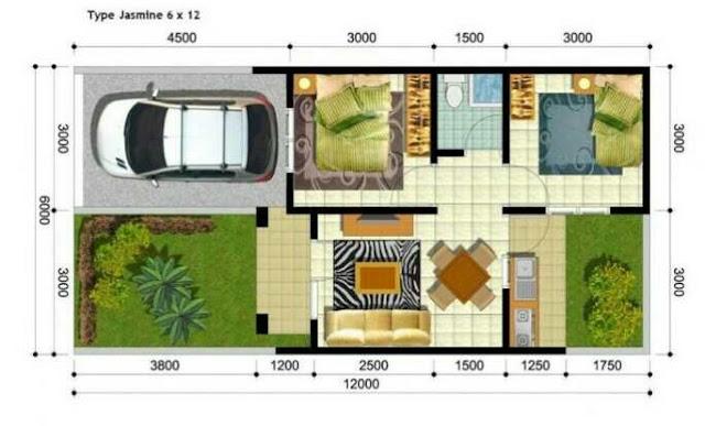 Contoh desain rumah minimalis dengan kelngkapan kolam renang