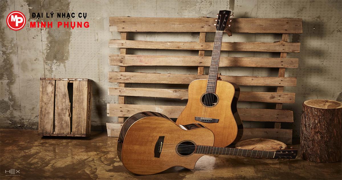 Gỗ thông sitka sử dụng công nghệ Torrrefied mang đến cho các bạn âm thanh của một cây đàn có tuổi lâu đời được phát ra trên một cây guitar hoàn toàn mới chất lượng âm thanh tuyệt vời và độ vang cao.