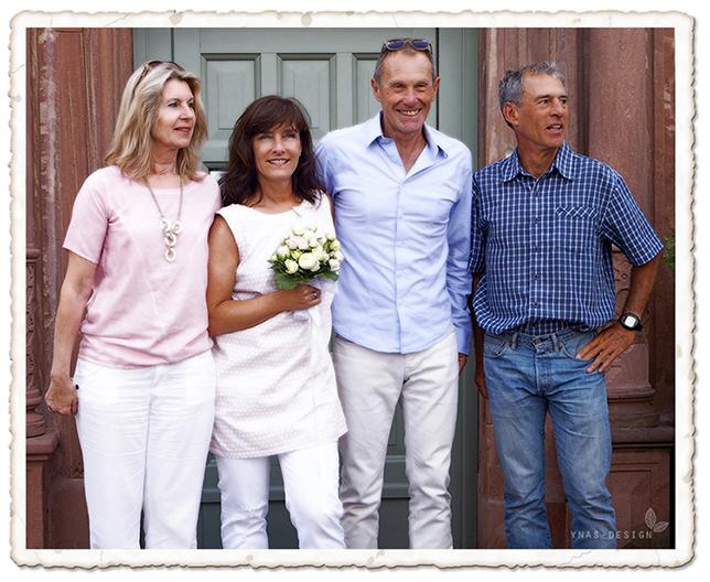 Ynas Design Blog, Flower Friday, Brautstrauß, Hochzeitsfoto, Danke!