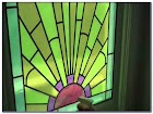 Green Stained GLASS WINDOWS