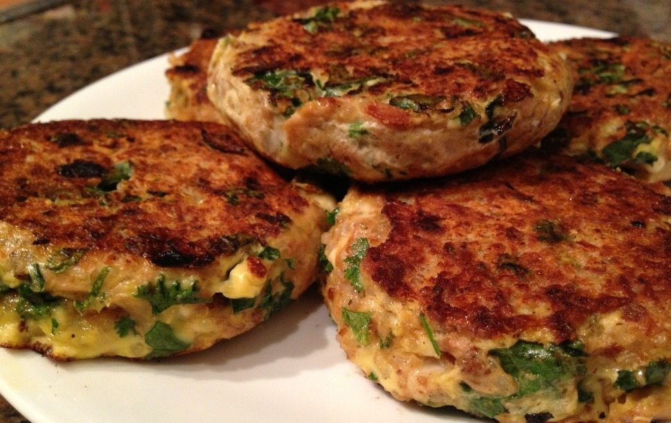 TUNA PATTIES- HEALTHY RECIPE OF THE MONTH