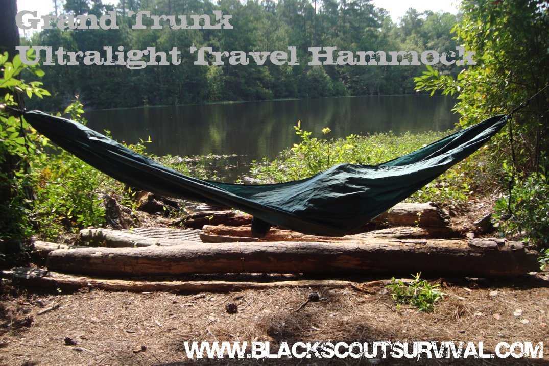 Black Scout Survival Grand Trunk Ultralight Travel