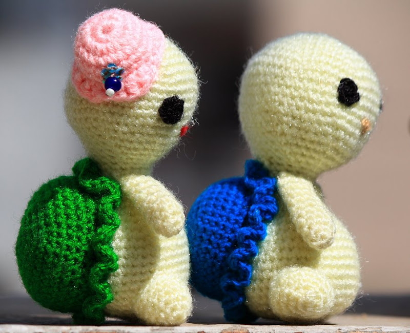 Amigurumi Crochet Turtle : Anything Creative: In love turtle - Amigurumi