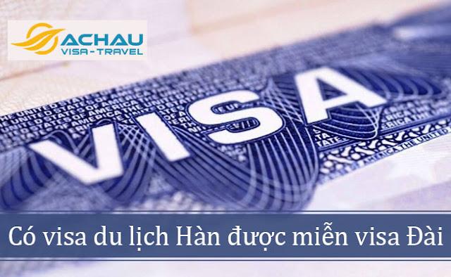 Xin visa du lịch Hàn Quốc để nhập cảnh đồng thời 2 nước được không?
