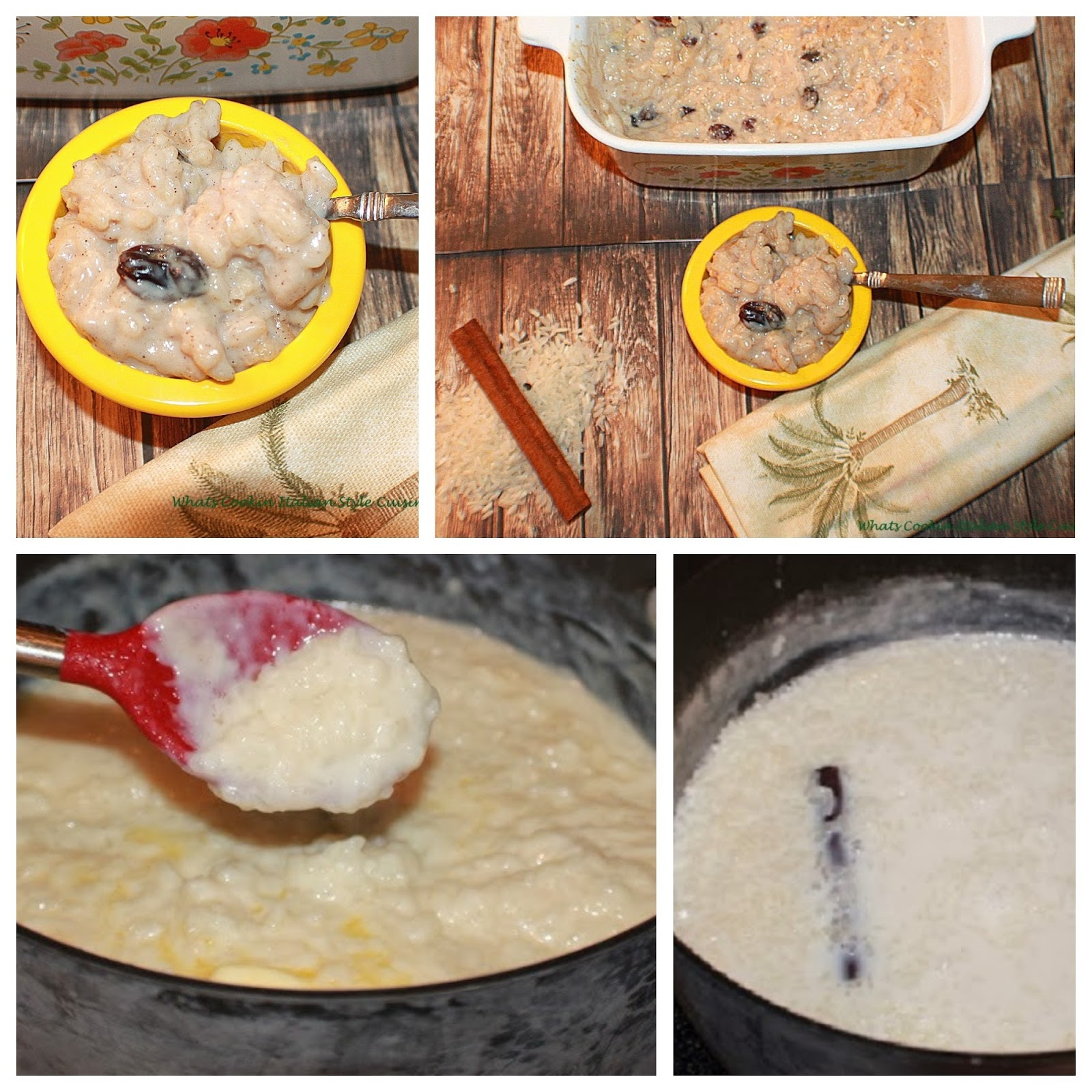 A creamy delicious rice pudding that I grew up on #rice #pudding