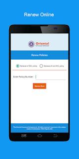 Oriental insurance insurance online