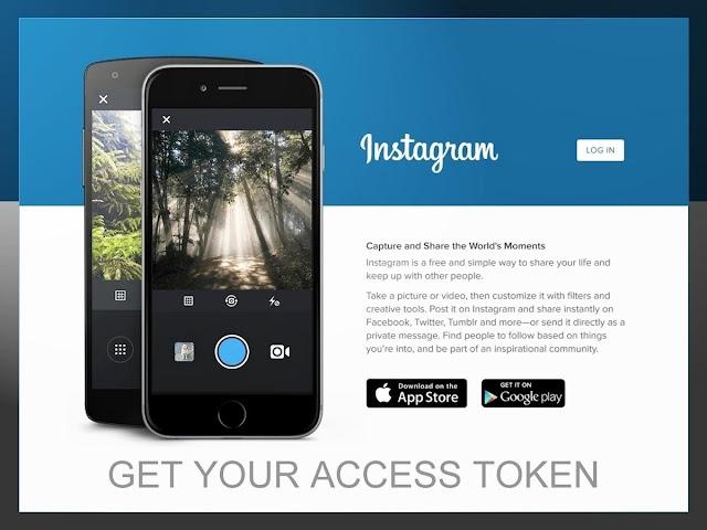 Get Your Instagram Access Token Here