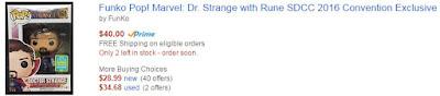 Funko Pop! Marvel: Dr. Strange