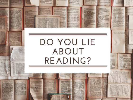 Do you lie about reading?