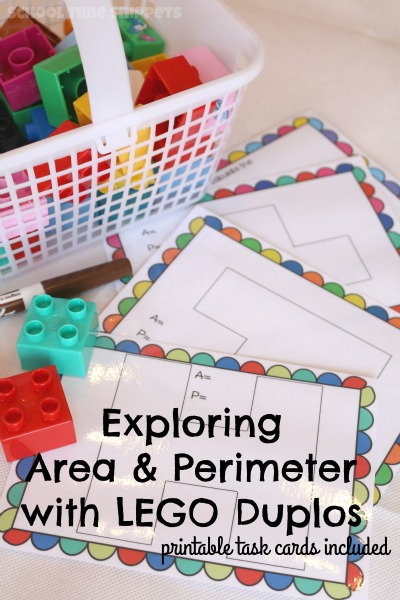 lego learning area and perimeter