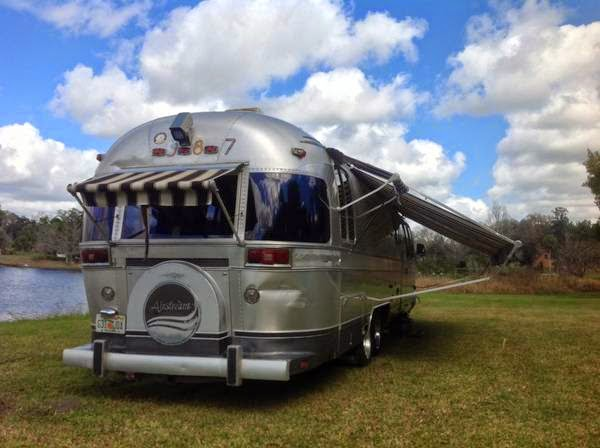 Used RVs Classic Airstream Motorhome For Sale by Owner