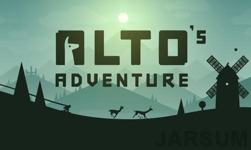 Game Offline Petualangan Terbaik di Android Secara Gratis - Alto's Adventure