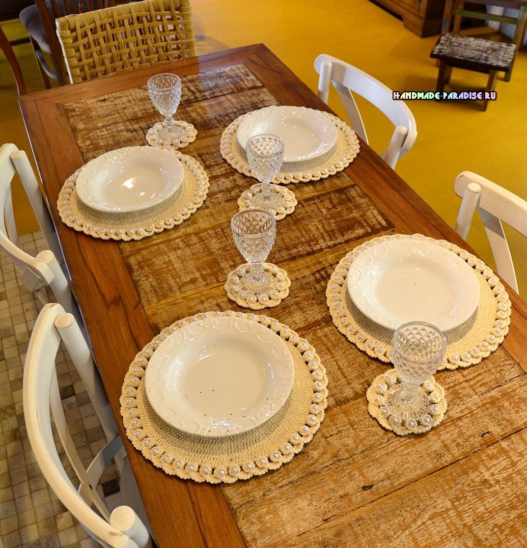Красивые салфетки для сервировки стола (3)