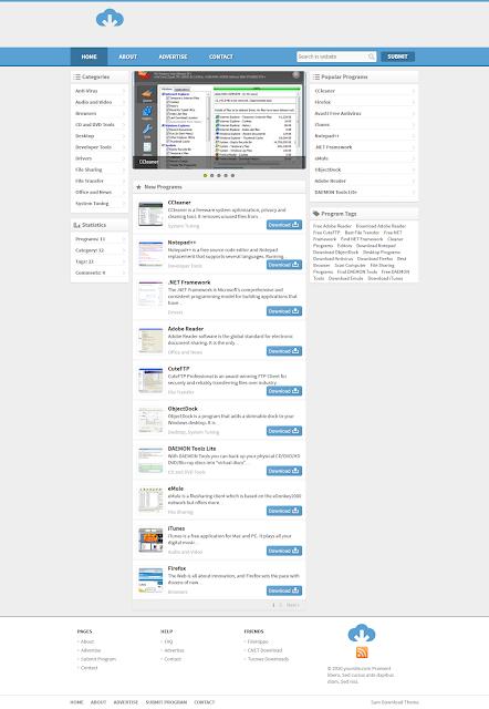 Wordpress Download Teması İndir